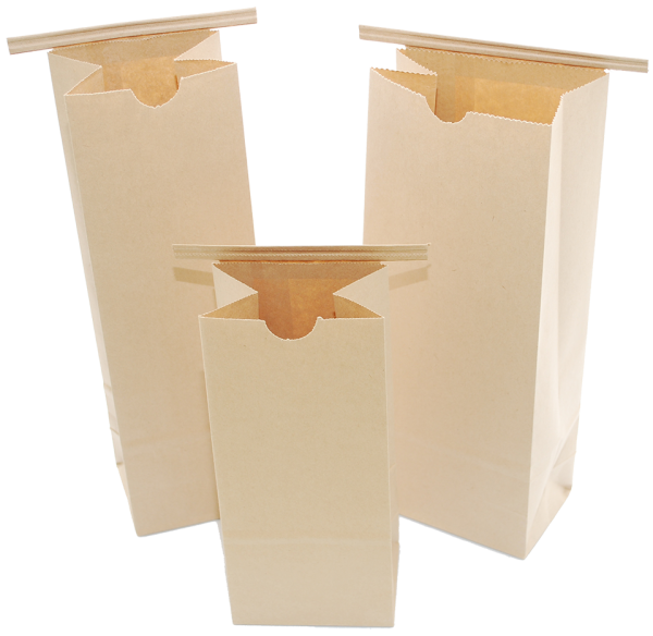 Compostable Paper Bags with Resealable Zipper