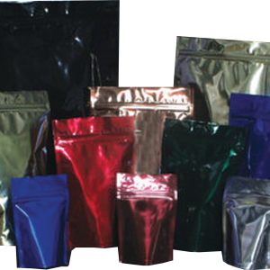 Assortment of Bags with Resealable Zipper