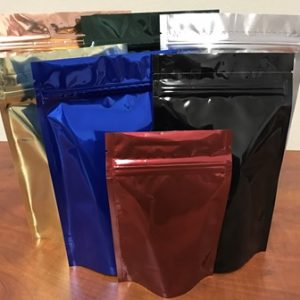 Economy Stand Up Bags Custom Colors Sizes