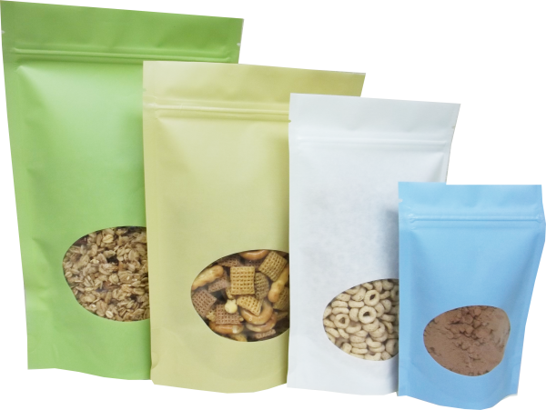 Rice Paper Stand Up Product King Bags